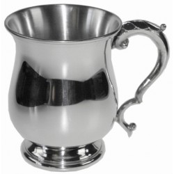 Georgian Pewter Tankard