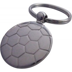 Metal Football Key Ring
