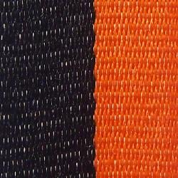 Black and Orange Ribbon