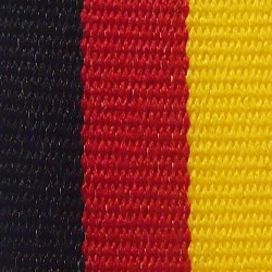 Black, Red and Yellow Ribbon