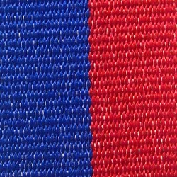Blue and Red Ribbon