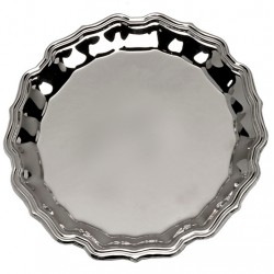 Silver Plated Salver 35cm