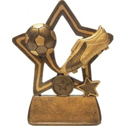 Large Little Star Football Trophy
