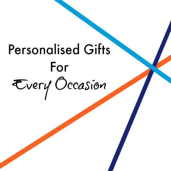 Personalised Gifts for Every Occasion