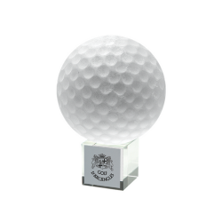 Golf Ball Trophy 10cm