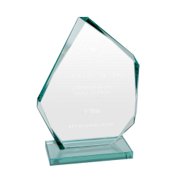 Jade Glass Ice Peak Award 30cm