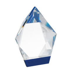 Crystal Triangle Award 17cm