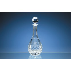Crystal Panel Wine Decanter