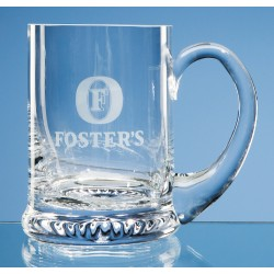 Glass Tankard Star Base One Pint