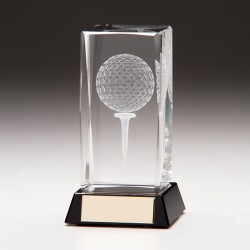 Golf Ball and Tee Laser Block Large