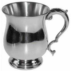 Georgian Pewter Tankard Half Pint