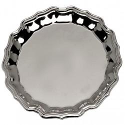 Silver Plated Salver 25cm